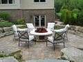 Hardscape Kitchen and Firepit Design and Installation