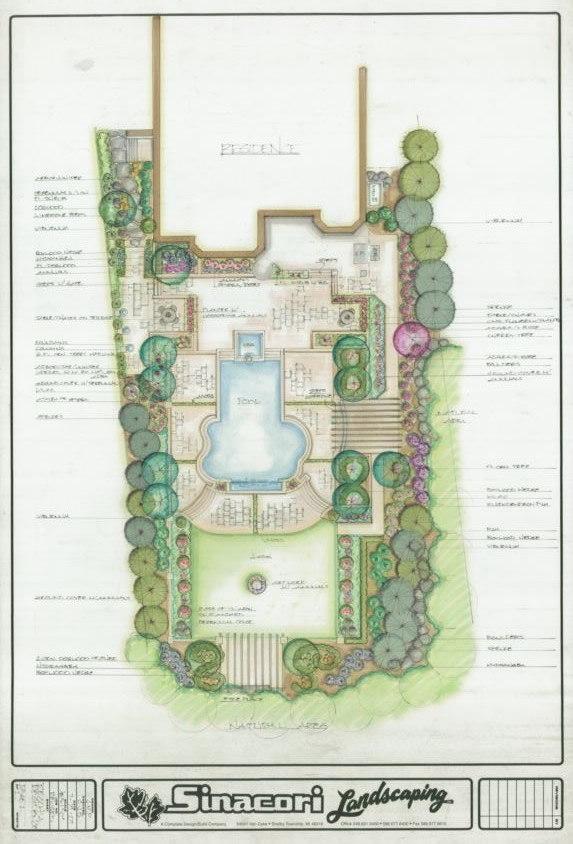 Residential Landscape Designers Newcastle : Residential designs