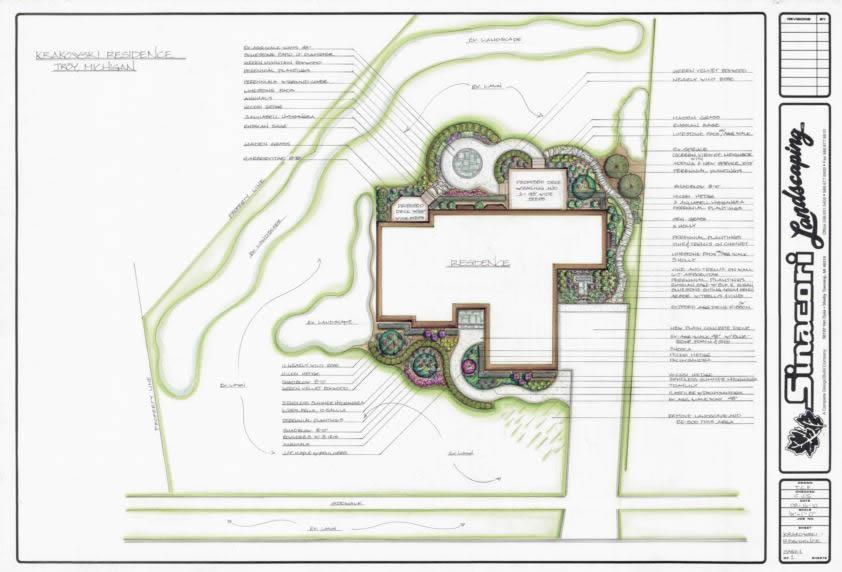 Residential Landscape Designers Newcastle : Landscape design oakland county sinacori landscaping