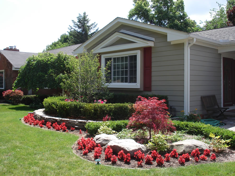 Sinacori landscaping photos serving oakland county and for Residential landscaping