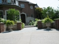 Bruce Township, Hardscape Design and Installation - Front Entrance