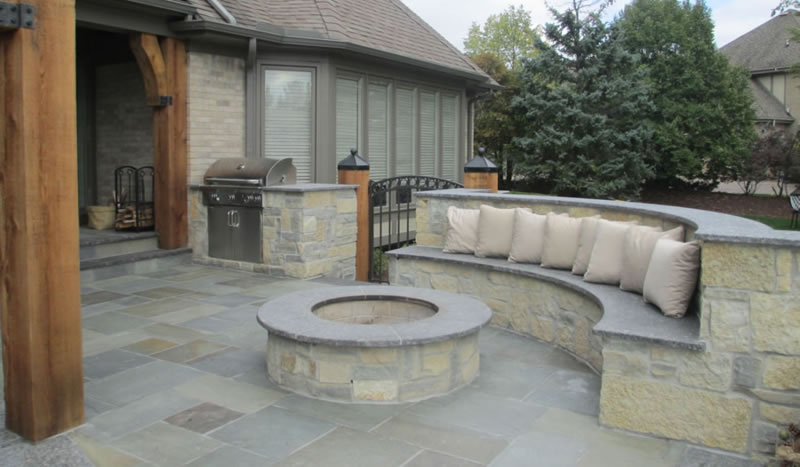 Orchard Lake Landscaper Discusses Fire Pits